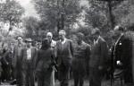 Πωλ Ελυάρ και στελέχη της Προσωρινής Δημοκρατικής Κυβέρνησης.
