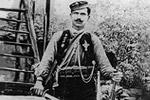 Ο Λάζαρος Αποστολίδης από την Άνω Λεύκη Καστοριάς. Θεσσαλονίκη, Ίδρυμα Μουσείου Μακεδονικού Αγώνα.