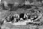 Κλαδοράχη Φλώρινας, εκδρομή, 15 Αυγούστου 1926. [από: <em>Η αποκατάσταση των προσφύγων</em>].